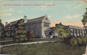 Agricultural Building, University Of Missouri, Columbia, Missouri, PU-1910