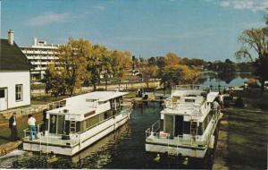 Pleasure Craft Cruise, RIDEAU CANAL, Ontario, Canada, 40-60's