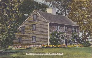 1958-Major John Bradford House, Kingston, Massachusetts