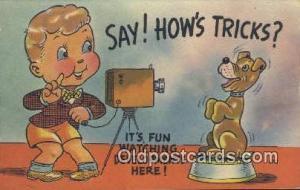 Camera Post Card Postcard Old Vintage Antique