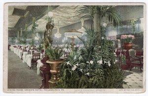 Philadelphia, Pa., Dining Room, Green's Hotel