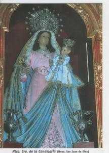 Postal 015530: Virgen Nuestra Señora de la Candelaria (Hnos San Juan de Dios)