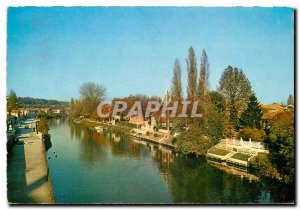 Modern Postcard Images of France Joinville Le Marne and Ile Fanac