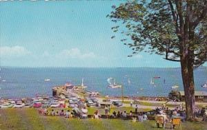 Maine Boating At Bayside On Penobscot bay Near Belfast 1968