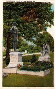 Virginia Richmond Jefferson Davis Section In Hollywood Cemetery