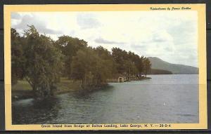 New York, Lake George - Green Island - Bridge at Bolton Landing - [NY-183]
