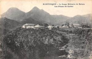Carribean Island Martinique Camp Militaire de Balata, Les Pitons du Carbet