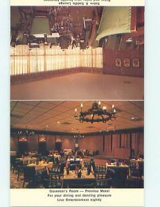 Unused Pre-1980 GOVERNORS ROOM RESTAURANT Natchez Mississippi MS M1051