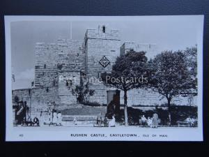 Isle of Man CASTLETOWN Rushen Castle c1950's RP Postcard by Ranscombe