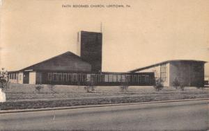 LEVITTOWN PENNSYLVANI~FAITH REFORMED CHURCH-MAYROSE PHOTO POSTCARD