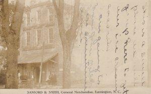 RP: FARMINGTON , North Carolina, PU-1909; Sanford & Smith, General Merchandise S