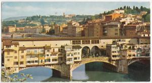 Italy, FIRENZE, Ponte Vecchio, 1979 used Postcard