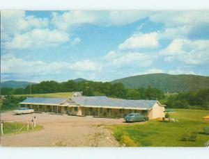 1950's OLD CARS & TWEEN LAKES MOTEL Fairlee Vermont VT s9983