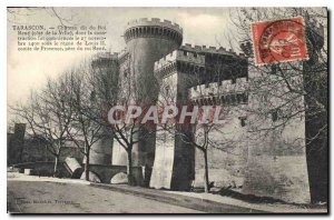 Old Postcard said Chateau du Roi Rene (rating of Vile) whose construction beg...