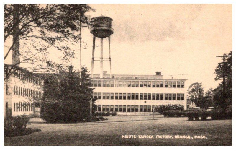 Massachusetts Orange , Minute Tapicoa Factory