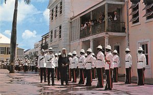 Chief Justice, Guard of Honor Nassau in the Bahamas 1962