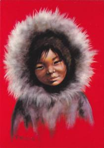 Canadian Indian Child PITUTOK , Canada , 50-70s