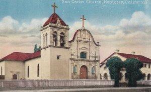 MONTEREY, California, 1900-1910s; San Carlos Church