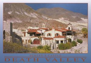 Scotty's Castle Death Valley CA Calif Natural History Association Postcard D14