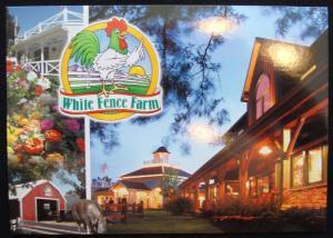 White Fence Farm Lakewood CO Postcard