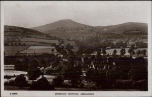 Abergavenny Wales c1905 Real Photo Postcard