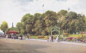 DUNDOON, Scotland, 1900-1910s; Castle Gardens