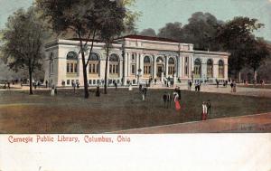 Columbus Ohio~Carnegie Public Library~Grant Avenue~Artist Conception~1905 PC