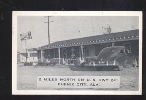 PHENIX CITY ALABAMA NEATY'S MOTEL HIGHWAY 241 VINTAGE ADVERTISING POSTCARD