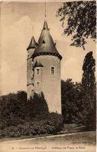 CPA Env. de POUILLY - Chateau de TRACY la Tour (456444)