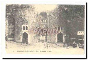 Boulogne sur Mer Old Postcard Porte des Dames