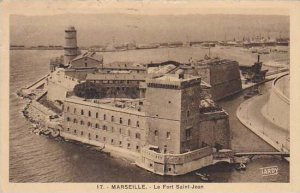 France Marseilles Le Fort Saint Jean 1936
