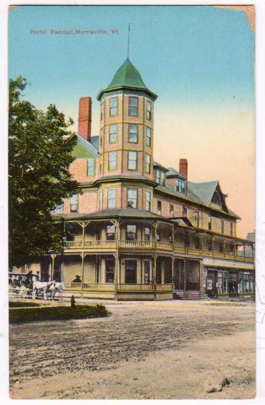 Hotel Randall Morrisville Vt