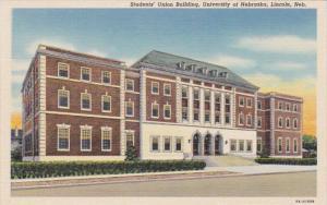 Nebraska Lincoln Students' Union University Of Nebraska Curteich
