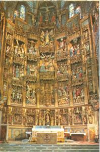 Spain, Toledo, Cathedral, Reredos of the High Altar, unused Postcard