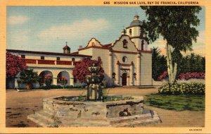 California Rey De Francia Mission San Luis Curteich