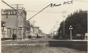 RP: PRINCE ALBERT , Saskatchewan, Canada, 1908 ; Central Avenue