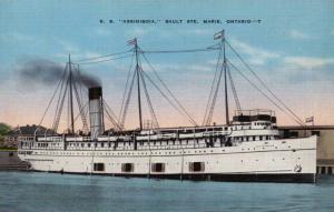 S.S. Assiniboia, Sault Ste, Marie,Ontario,Canada,30-40s