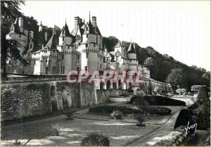 Postcard Modern Rigny usse (i and l) the castle (xvi s)