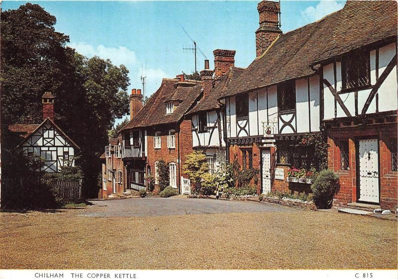 BR22633 Chilham the copper Kettle england