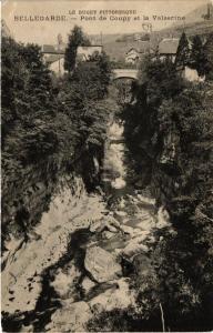 CPA BELLEGARDE Pont de Coupy et la Valserine (382911)