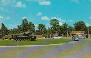 Kentucky Fort Knox Main Entrance To Armor Center 1960