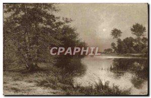 Old Postcard Salons Paris Alert Rigolot Decline Of Day