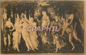 Old Postcard Firenze R Galleria Antica e Moderna Allegoria della Primavera (B...