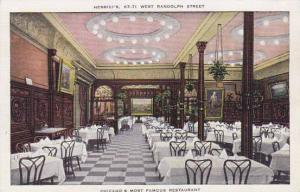 Illinois Chicago Henricis 67 71 West Randolph Street Chicagos Most Famcus Res...