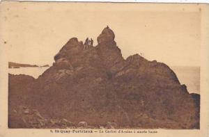 France Saint-Quay-Portrieux Le Gerbot d'Avoine a maree basse