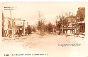 New Hampshire Avenue in Southern Pines, North Carolina