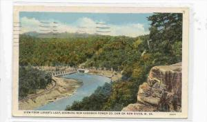 View From Lover´s Leap, Showing New Kanawha Power Company Dam On New River, ...