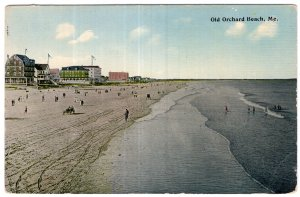 Old Orchard Beach, Me. - Tichnor Brothers