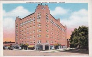 Indiana Richmond The Richmond-Leland Hotel 1941