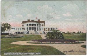 Maine - Cape Elizabeth - Cape Cottage Casino - 1907